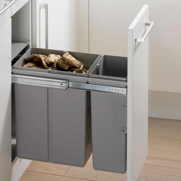Contenedor para reciclaje mueble de cocina compostchile - Mueble de reciclaje ...